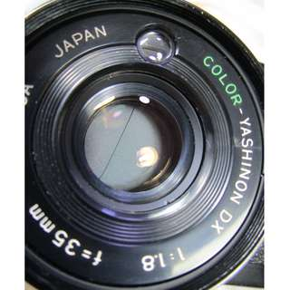 RARE Vintage Yashica 35 CCN Rangefinder Camera Japan