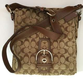 Coach cross shoulder bag
