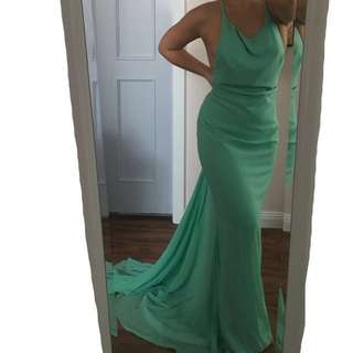MINT CUSTOM MADE DRESS