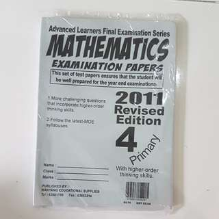 Primary 4 maths exam papers
