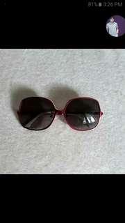 Lacoste L105S Sunglasses in Shiny Red