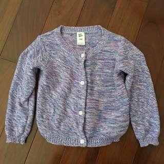 🚚 女幼童針織外套(24M)