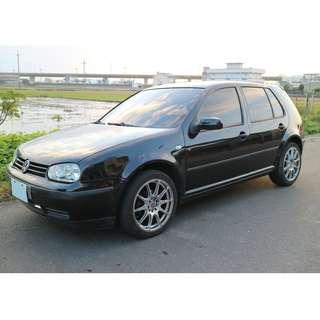 自售 VW GOLF MK4 1.6 2002年福斯 四代