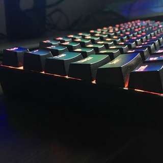 Red dragon mechanical gaming keyboard