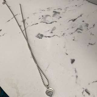 Silver Tiffany and Co Necklace
