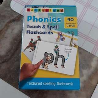 Letterland flashcards
