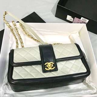 Chanel Bi Colour Flap