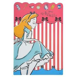 Japan Disneystore Disney Store Alice in Wonderland ALICE PARTY Underlay