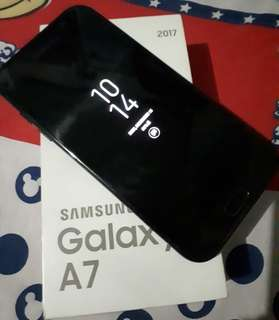 for sale samsung A7 2017 (globe lock) complete package