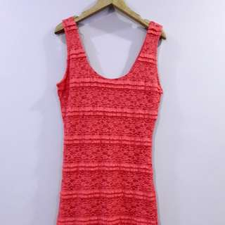 f21 lace bodycon