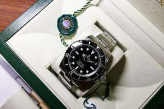 Rolex 114060 Submariner (warrantied, full set)