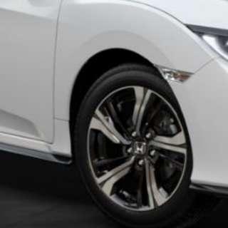 "2017 Honda Civic Hatch Wheels 17"""