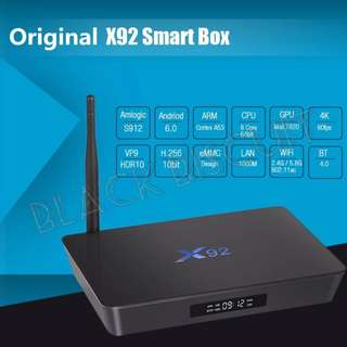 Android Box X92 S912 Octa Core 3GB RAM
