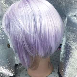 Purple wig for party or cosplay use
