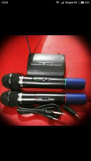 Wireless microphone 2pc.