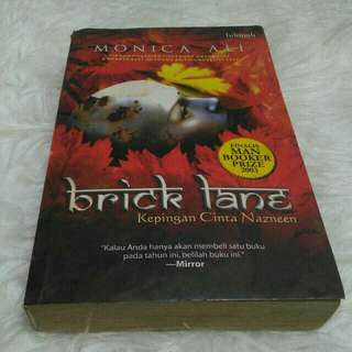 [Berkah15] #nobarter #cuma1hari Novel Brick Lane