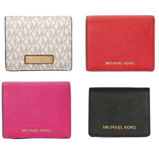 **TreasuryHouse** MICHAEL KORS 短銀包 4色