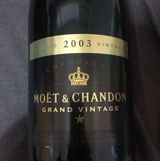 Moet and Chandon Grand Vintage 2003