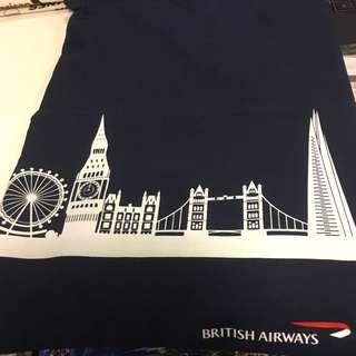 British Airways string bag