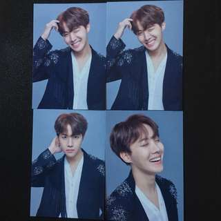 Ready Stock BTS The Wings Tour The Final Mini Photocard J-HOPE
