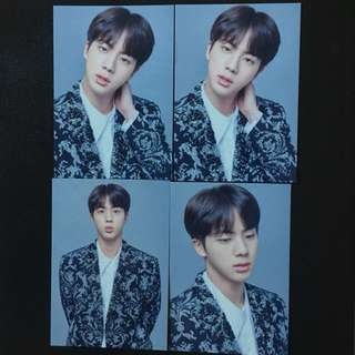 Ready Stock BTS The Wings Tour The Final Mini Photocard JIN