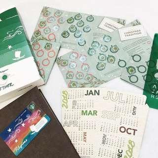Starbucks Planner Complete Stickers