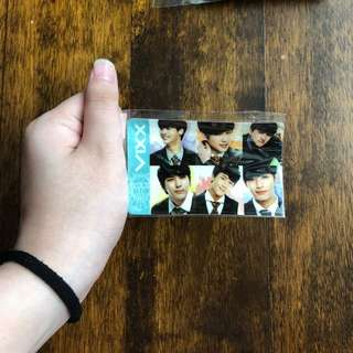 VIXX ez-link card stickers
