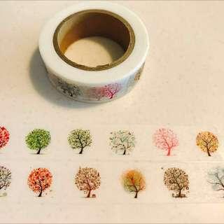 Washi Tape - Seasons