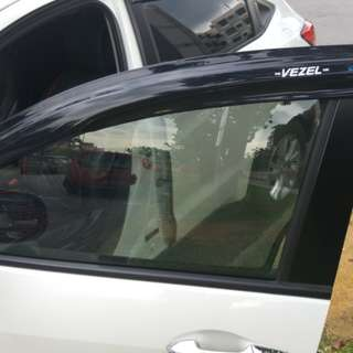 Honda vezel window visor for sale