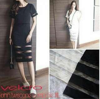 Velcro dress