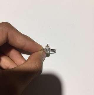 Colette teardrop ring