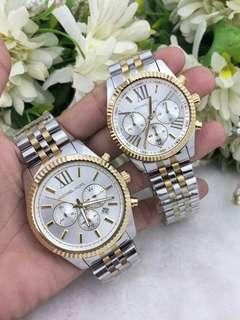Authentic MK Lexington Couples Watch