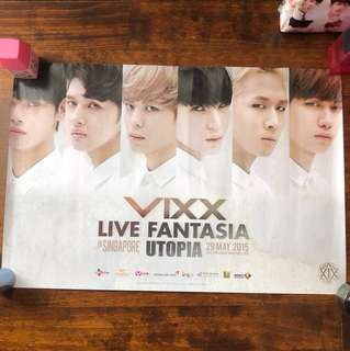 VIXX live fantasia in singapore official poster