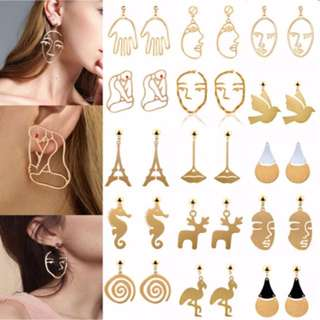 Earrings ($5 one pair)