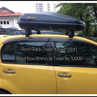 Roof Cargo Box Rhino @ Tridenta 300L