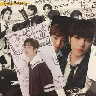 [WTT/WTS] the boyz album and pc and poster