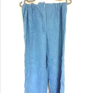 [FLASH SALE!] Light Blue Denim Trouser