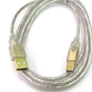 豐原專區→全新 USB印表機線 2.0 A公對B公 連接線 傳輸線 延長線 1.8M 台中豐原