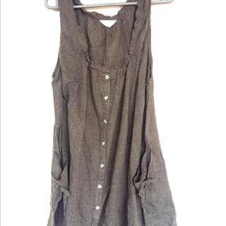 [FLASH SALE!] Army Brown Dress