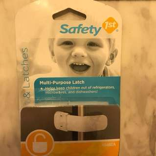Safety first multi purpose latch