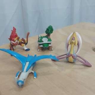 TOMY 2007 Pokemon Figurines