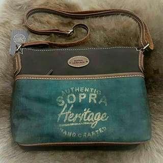 Tas selempang SOPRA Heritage prod.indonesia bandung punya...!