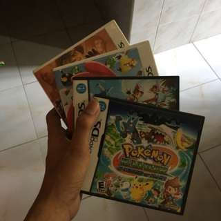 Nintendo DS / 3DS games (Angry Birds, Pokemon, Street Fighter)