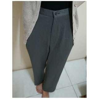 Grey Trouser / Kulot