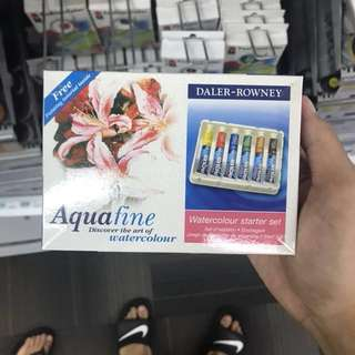 Daler Rowney Aquafine watercolor