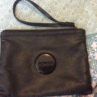 Mimco black pouch