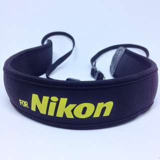 Nikon Neoprene Neck Strap for DSLR