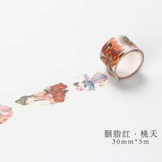 Chinese Girl Washi Tape