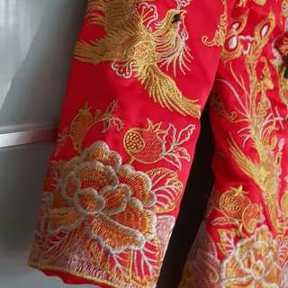 Traditional Chinese Wedding Coat
