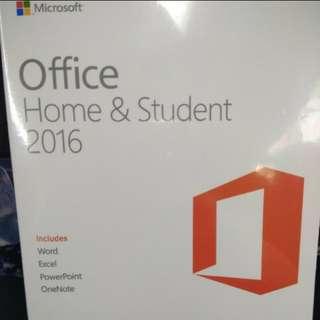✨ Office 2016 家用版 - 全新未拆盒